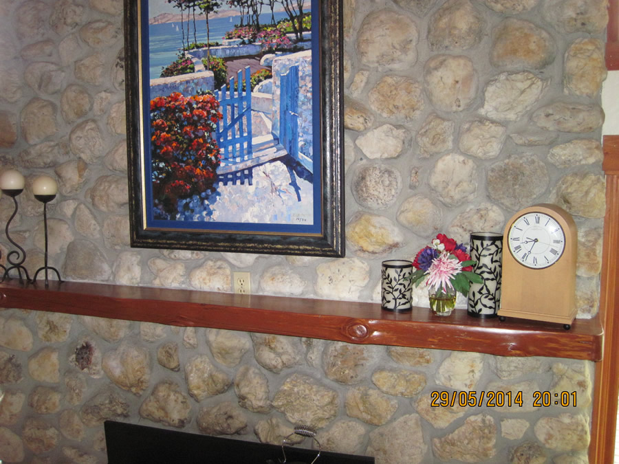 Painters Grass Valley Custom Fireplace Mantle